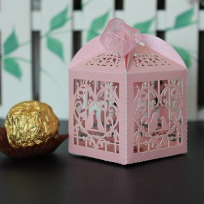 Love bird pink-5x5x5cm