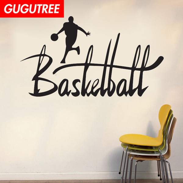 Decorate Home basketball cartoon art wall sticker decoration Decals mural painting Removable Decor Wallpaper G-2051