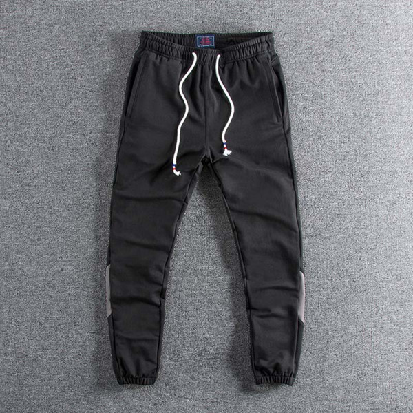 2019 new arrivals Bottom-to-toe color splicing of young men's leisure bodyguards pants for promotion wholesale boy's
