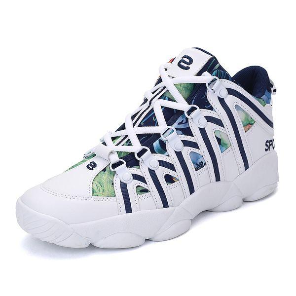 2019 otoño nuevos hombres zapatillas de deporte de moda zapatos de cuero de la PU zapatos casuales para hombres con cordones hombre ocio casual más el tamaño 45 unisex