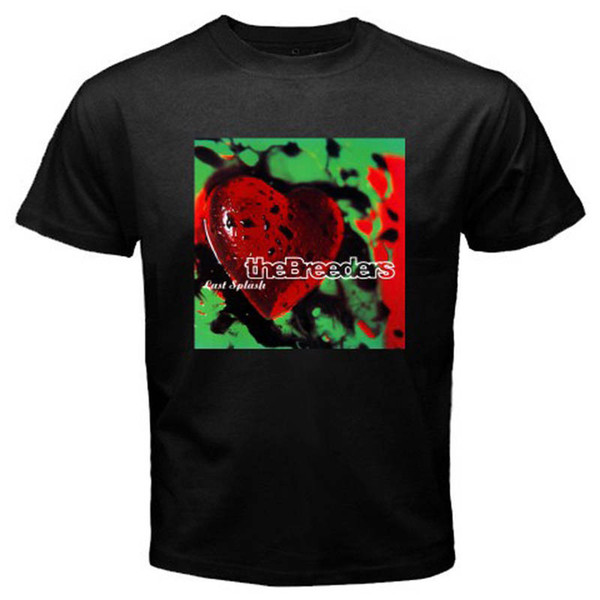 Cheap Sale 100% Cotton T Shirts For Boys The Breeders Short Funny Crew Neck T Shirt For Men