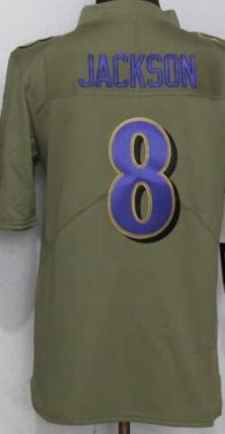 Olive салют Baltimores Service Limited Джерси Человека-9 Джерси рубашка Athletic Открытый американский футбол Джерси 00