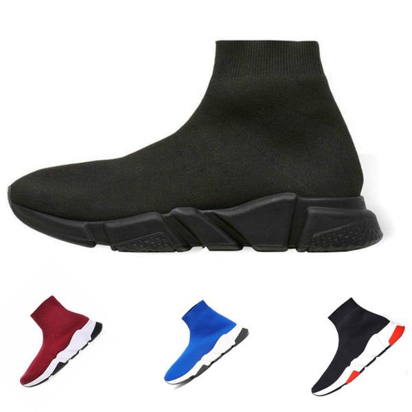 Belenciaga socks and shoes air jordan off white asics vans vepormax des moda homens mulheres sapatilhas velocidade trainer preto branco azul rosa glitter mens formadores casuais