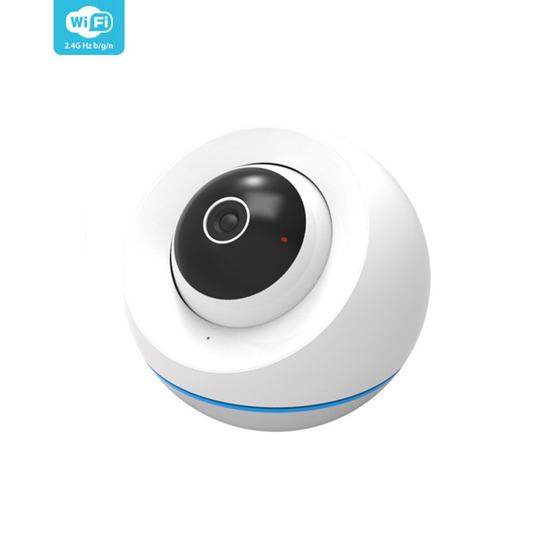 Smart Dome Cameras Baby Monitor Indoor Tuya App Wireless WIFI Control 200W Pixels HD Mini CCTV IP Camera Video Surveillance
