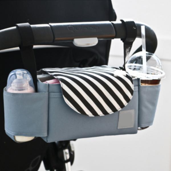 Mode Multifunktionale Mamabeutel Windel Windel Taschen Große Kapazität Babyflasche Hängen Tasche Organizer Lagerung