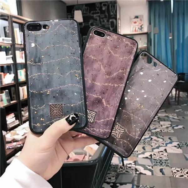 NICE Diamant Goldfolie Telefon Fall Epoxy Fall für iPhone MAX XS XR 6 7 8 plus X Telefon Fällen