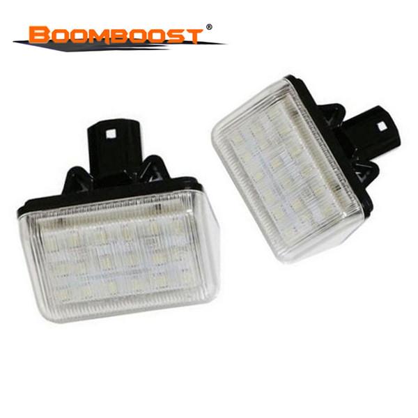 Pièces auto Accessoires voiture LED Numéro de plaque d'immatriculation Light Car Styling 18LED pour Mazda CX-7 / Vitesse 6 / CX-5 / Station Wagon