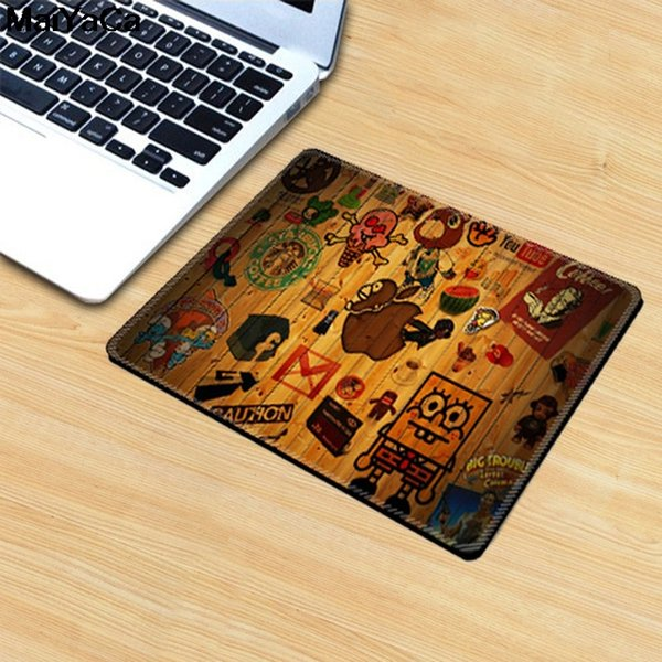 MaiYaCa 20x25cm pbpad store small creative cartoon mouse pad cute computer notebook gaming mouse pad office thick