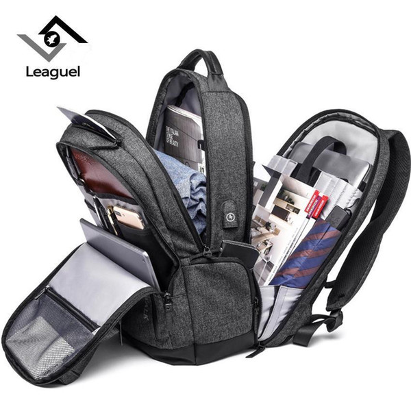HANTAJANSS NEW Laptop Backpacks For Men Oxford Waterproof Large Capacity College School Bags For Teenage Rucksack Travel Bags