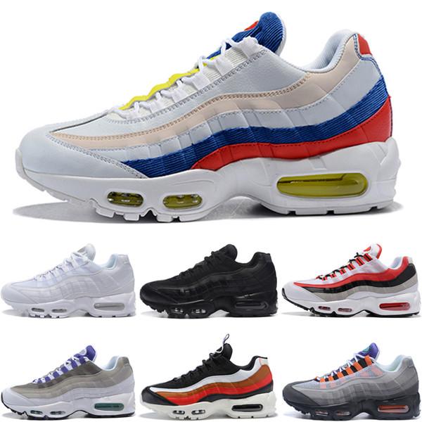 Compre Nike Air Max 95 Original Tn Hombres Zapatillas De Deporte De Diseño Chaussures Kpu Men Tn Zapatillas De Deporte 2019 Más Nuevos Zapatos Para