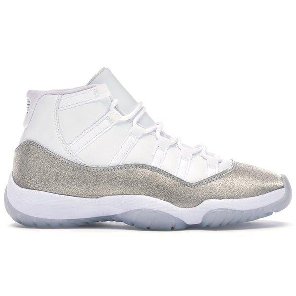No.2-White Metallic Silver