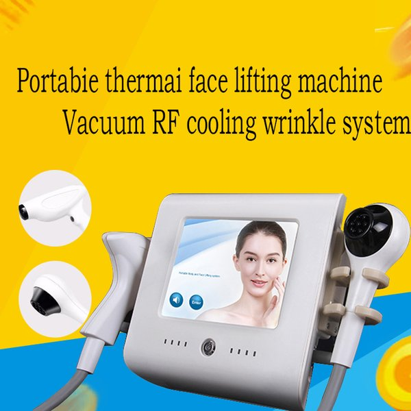 New Thermolift RF Face Lifting Cooling Beauty Facial Wrinkle Remover Beauty Machine For Face And Body