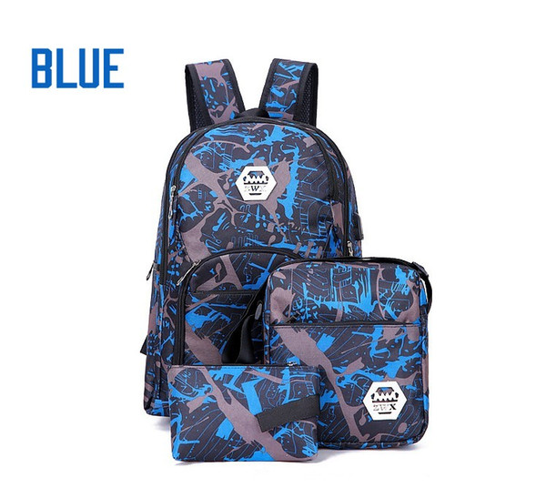 top popular Top Best bag outdoor camouflage travel backpack computer bag Oxford Brake chain middle school student bag Outdoor colors free shipping 2019