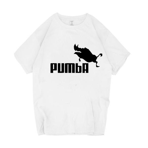 Acheter 2019 T Shirt Drôle T Shirts Homme Pumba Hommes En Coton À Manches Courtes Tops Cool T Shirt Jersey Costume De Mode T Shirt De $34.56 Du