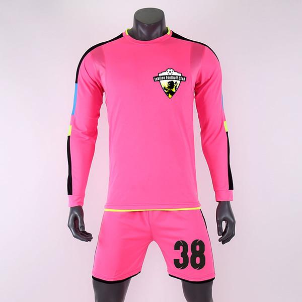 2019 homens criança camisas de futebol camisetas camisa calções personalidade costume adulto crianças futbol uniformes de treinamento de goleiro conjunto