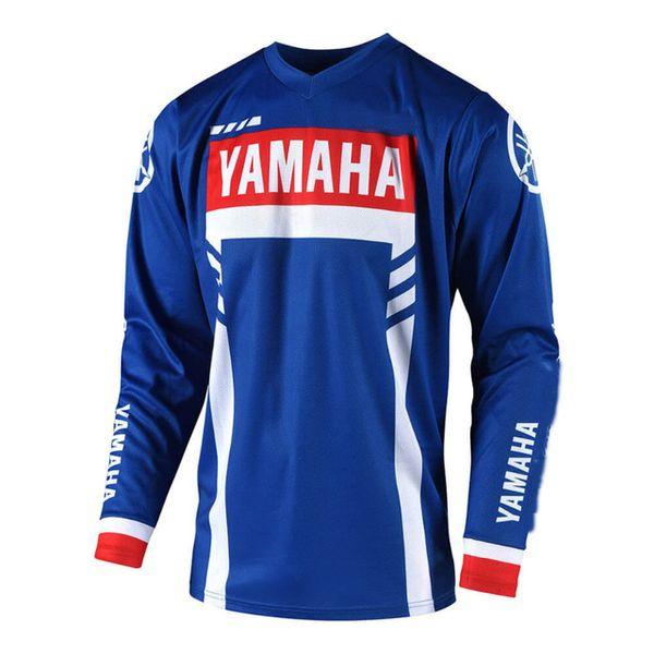 NEW MOTO GP للدراجات النارية ركوب الخيل فريق جيرسي الرياضة للدراجات دراجات دراجة FIT FOR YAMAHA JERSEY الدراجات النارية و الدراجات انحدار الفانيلة WE