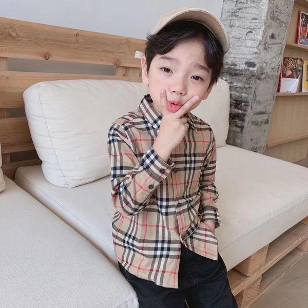 Camicie per bambini in cotone 100% per bambini ragazze autunno abiti a maniche lunghe abiti moda bambini ispessimento vestiti giacca ragazze