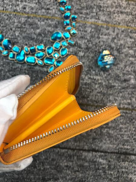 Yeni En Kaliteli Paris Stil Erkek Kadın Anahtar Çanta moda Kore goya kısa zip cüzdan kompakt sikke çanta kart pozisyonu zarif GY cüzdan
