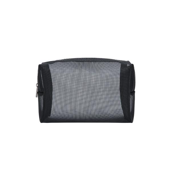 Travel Storage Toiletry Large Capacity Women Cosmetic Multifunction Transparent Wash Pouch Organizer Zipper Mesh Makeup Bag