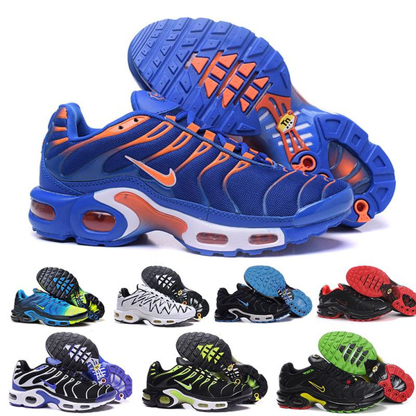 Top Cheap Mens Womens Shoes Rainbow Green TN Ultra Sports Requin Sneakers Shoe Caushion Running Shoes 36-46 HA66BK