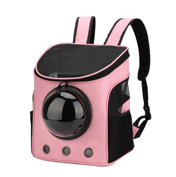 Breathable Space Cabin Pet Cat Carrier Dog Backpack Pet Dog Outdoor Portable Package Bag Shoulder Travel Tote Luggage Drop Shipping 03