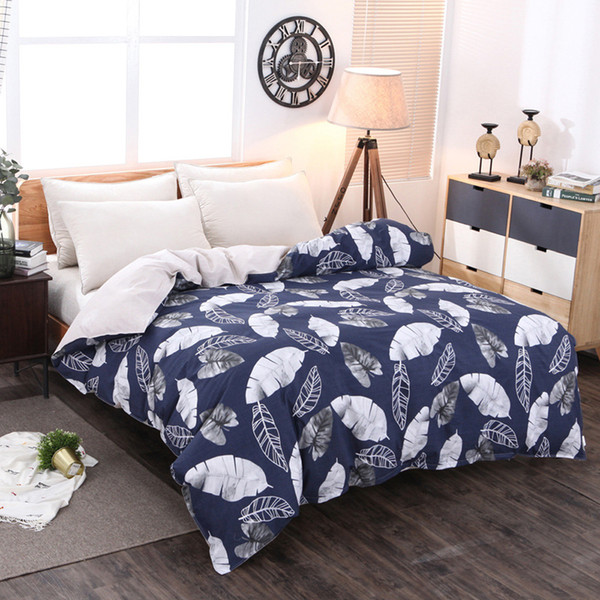 Bedroom double single bed Cotton duvet cover comforter cover twin queen king quilt bedding Home Textiles Bedclothes Plant