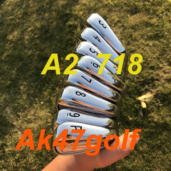 2019 golf iron a2 718 forged iron et 3 4 5 6 7 8 9 pw with dynamic gold 300 teel haft 8pc golf club