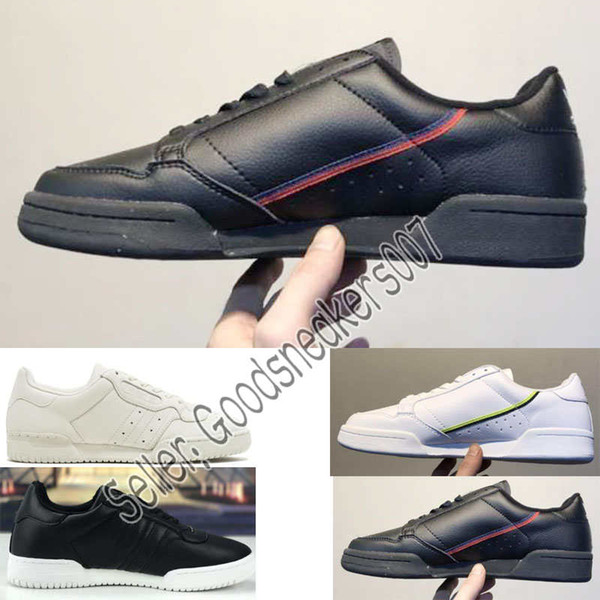 Grau Blau Continental Aero Shoes West Men Schwarz Jahre Kern Adidas Women Freizeitschuhe Großhandel Designer Kanye Powerphase Calabasas 80 80er EDeH92IWY