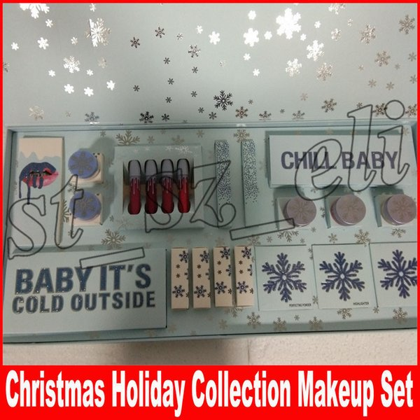 Chri tma holiday collection makeup et chill baby eye hadow palette baby it cold out ide kri tma makeup et lip tick et highlighter