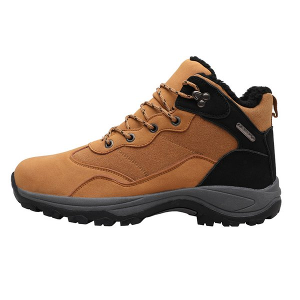 Autumn Winter New Style Men's Hiking Boots Mens Winter Shoes Snow Boots for Man OUtdoor Sneakers