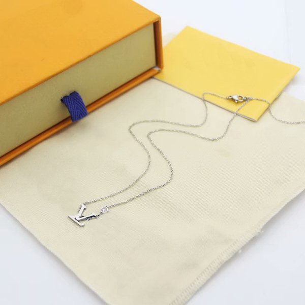 Weißgold / Halskette