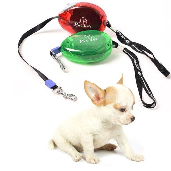 Portable corde de plomb pour animaux de compagnie 3M automatique chien de compagnie rétractable laisse chiens marchant laisse laisse pour animaux de compagnie chiot chat plomb étendant la traction corde BH1541 TQQ