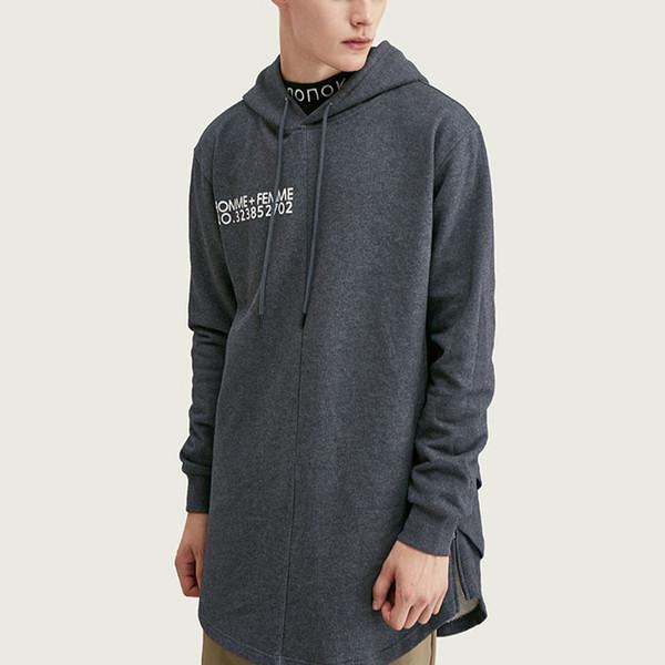 Großhandel Designer Marke Hoodies der Frauen der Männer Street Art Sweatshirts mit Kapuze Pullover Long Length lose Hoodie Top-Qualität B101650V