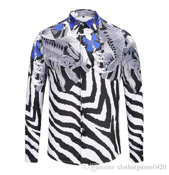 Men's Fashion Shirts Long Sleeves Solid Color Casual Shirt 2018 Winter New blouse Slim mandarin collar Teenager's OverShirtc127
