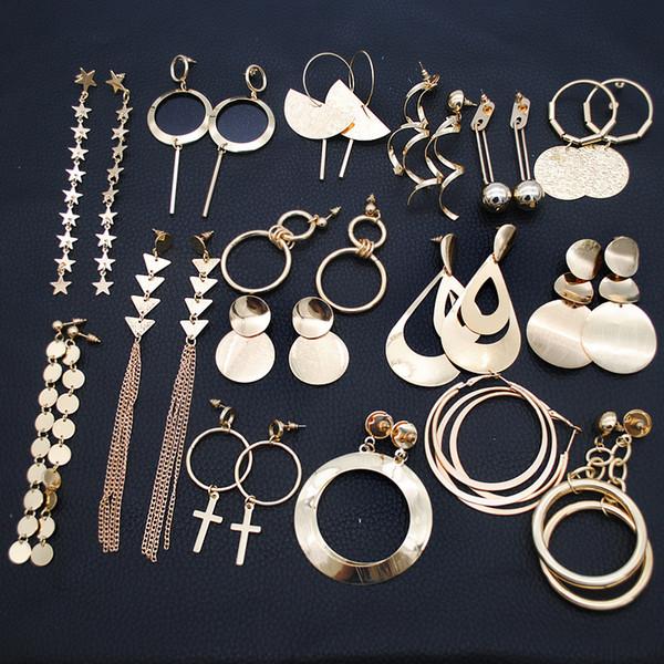 Bohême Creux Ovale Strass Perles Goutte Dangle Boucle d/'oreille Fashion Jewelry