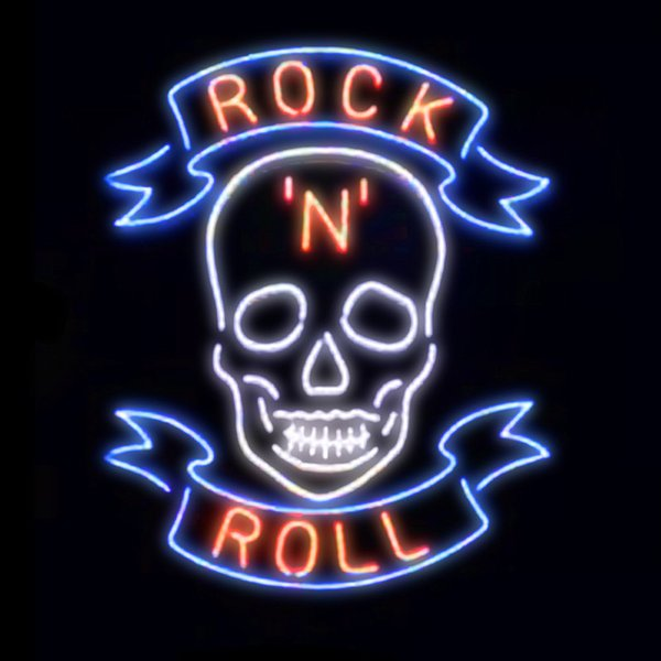 New Star Neon Sign Factory 19X15 Inches Real Glass Neon Sign Light for Beer Bar Pub Garage Room Rock & Roll.