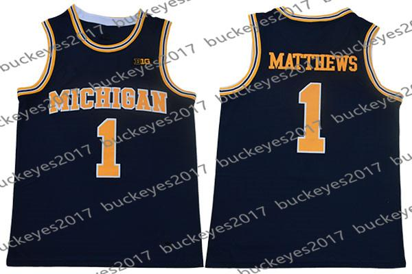 1 Charles Matthews Navy Blue