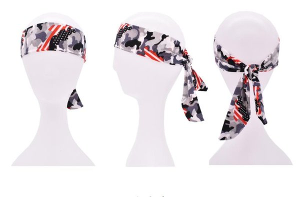 Einfache Outdoor Sport Stirnbänder, elastische Baumwolle Stirnband, Fahrrad Bandanas-Kopf-Verpackung für Jugendliche, Junge, Männer und Frauen