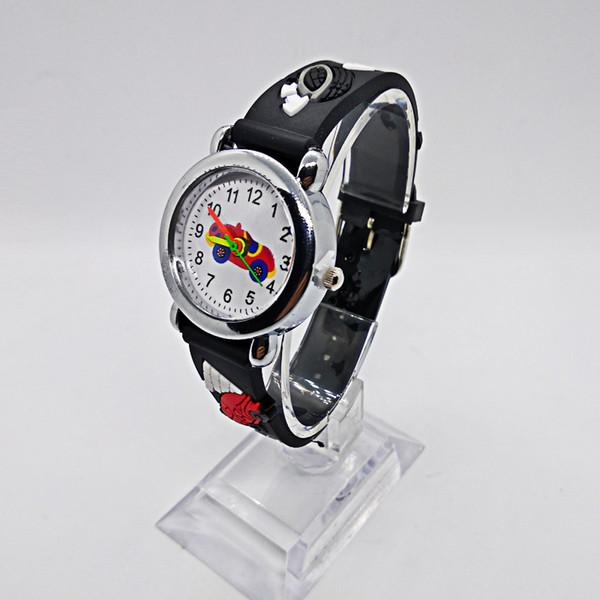 Niedriger Preis gute Qualität Kinder Kinder Uhren für Schüler, Mädchen, Jungen Uhr Quarz Kind-Armbanduhr-Karikatur Auto Baby Uhr