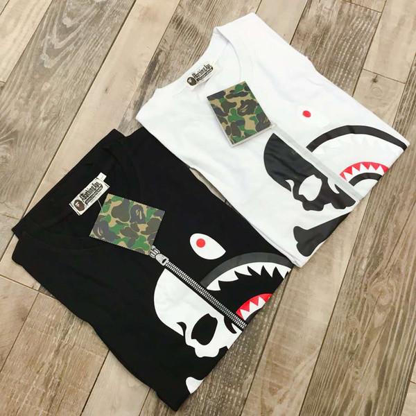 Diseñador de moda para hombre para mujer para hombre Camisetas con estampado de calaveras Hombres Ropa de marca Mujeres de manga corta Tops de lujo Camiseta Asiática Tamaño M-XXL al por mayor