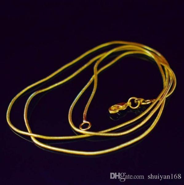 """Silver Snake Chain 18/""""// 1.2mm US Seller"""