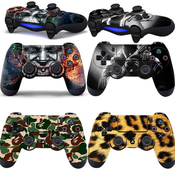 Para PS4 Vinil Adesivo Skin Protective Playstation Game Console Controlador decalque