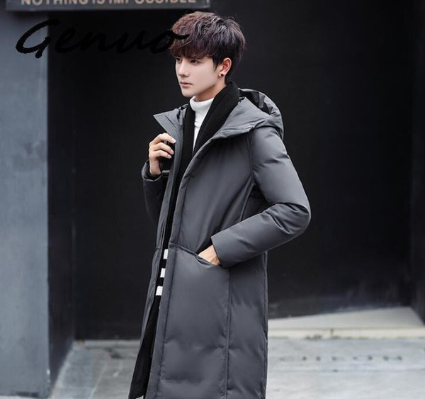 2019 High Quality 90% White Duck Thick Down Jacket Men Coat Snow Parkas Male Warm Brand Clothing Winter Down JacketXXLGUCCI