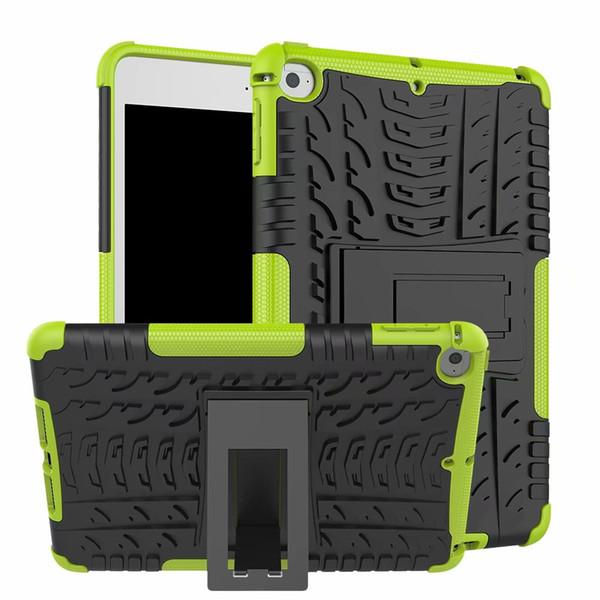 2 em 1 KickStand Impacto Robusto Resistente TPU + PC Híbrido Capa case para ipad mini 5 2019 ipad mini 1 2 3 4 150 pçs / lote