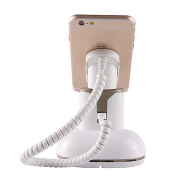 30PCS Hot sale standalone anti-theft retail device cell phone display stand with charge buzzer alarm function