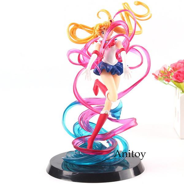 Pretty Guardian Sailor Moon Tsukino Usagi PVC Figure New In Box Petit-Chara