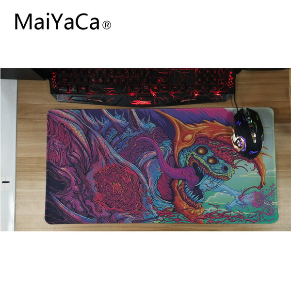 Maiyaca High Quality Large Gaming Mouse Pad Mat Grande Hyper Beast Wallpaper For Cs Go Gamer Fellowes Wrist Rest Foam Wrist Rest From Muju 2764