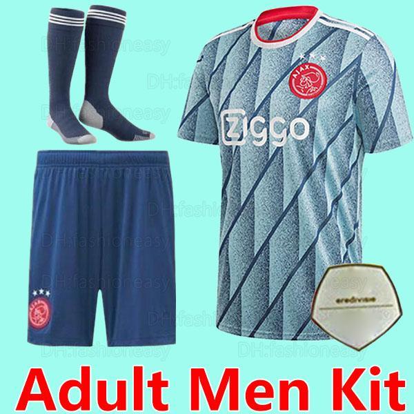 20 21 Adult men away socks patch1