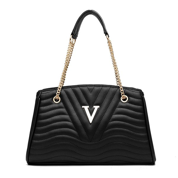Handbag Women Bags Designer Shoulder bags leather ladies Contracted pure color Luxury crossbody for women 2019 high quality