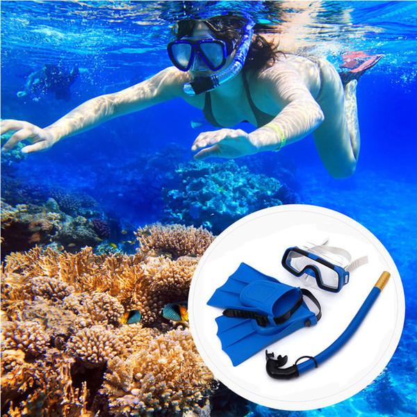 Masque de plongée en apnée Ensemble de tubes de plongée en apnée Lunettes de plongée anti-buée nageant avec une respiration facile Tube de plongée en apnée Masques de plongée en apnée Enfant Adulte